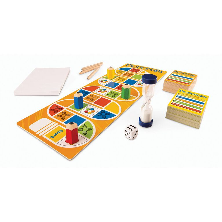 Pictionary Board Game - English Edition