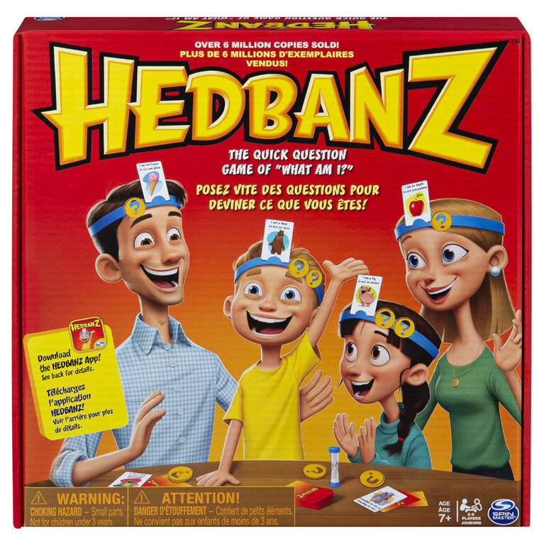 Hedbanz Family - styles may vary