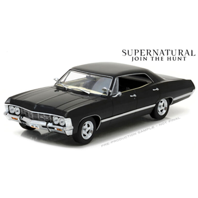 1:24 Supernatural (Série TV 2005-) Chevrolet Impala Sport Sedan 1967 - Édition anglaise