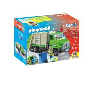 Playmobil - Green Recycling Truck (5938)