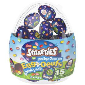 Smarties Emb Chasse Aux Oeufs 12X262G - Articles vendus individuellement. Les personnages peuvent varier