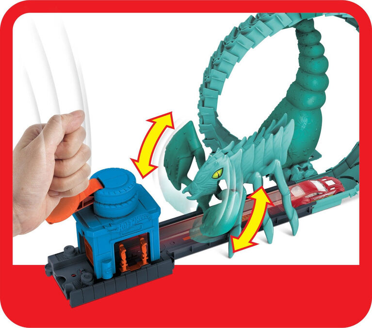Hot Wheels - Coffret Attaque du Scorpion Toxique