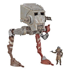 Star Wars The Vintage Collection The Mandalorian AT-ST Raider Vehicle with Figure - R Exclusive