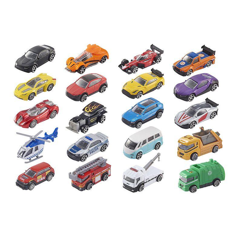 Teamsterz 10 Pack Die-cast Street Machines