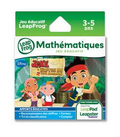LeapFrog LeapPad Jake & The Neverland Pirates - Mathematics Learning Game - French Version