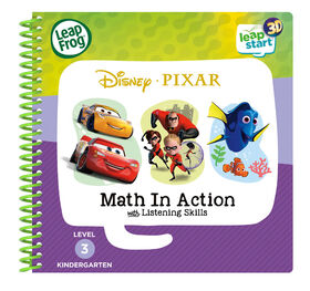 LeapFrog LeapStart 3D Pixar Math in Action - English Edition