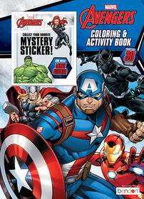 Livre de coloriage avec autocollant mystère – Marvel  - Édition anglaise