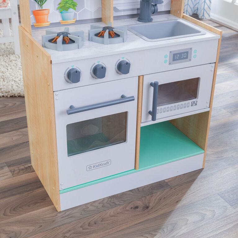 Kidkraft Lets Cook Play Kitchen-Natural