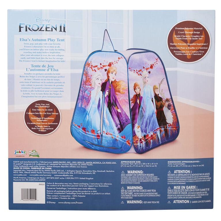Frozen II Character Tent