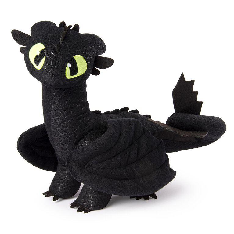 Comment entraîner son dragon, grande peluche Krokmou de 35,56 cm. - Notre Exclusivité