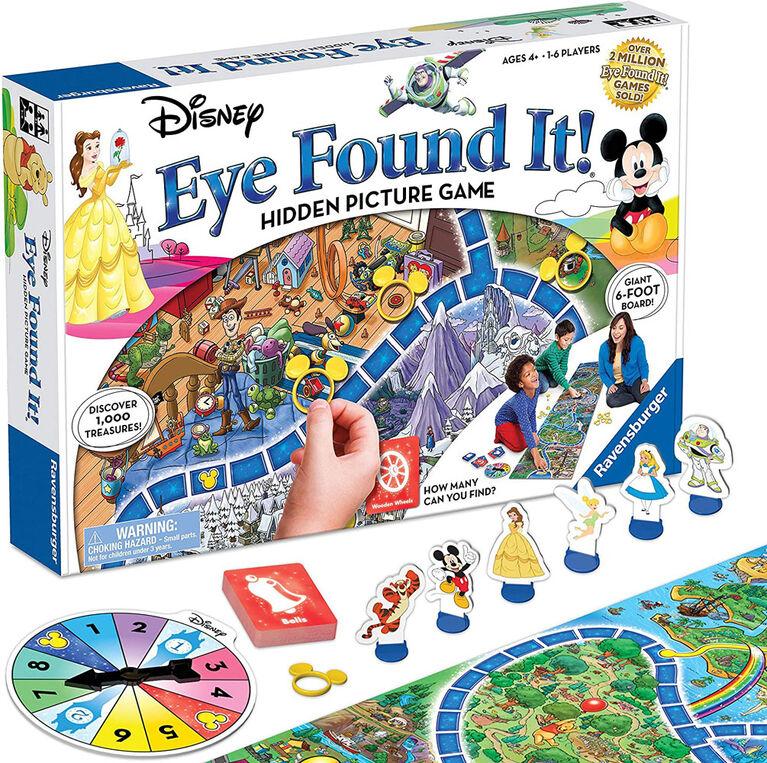 Ravensburger - Disney Eye Found It! - English Only
