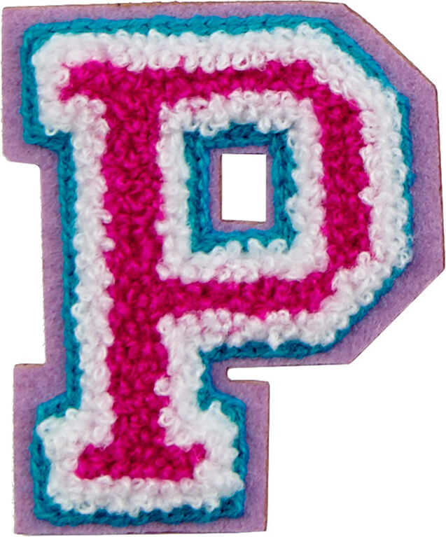 Patchs: lettres décoratifs - Lettre P