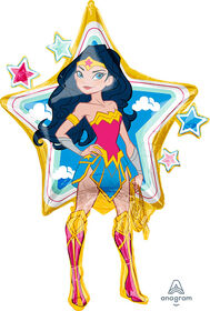 Wonder Woman Supershape Foil Balloon