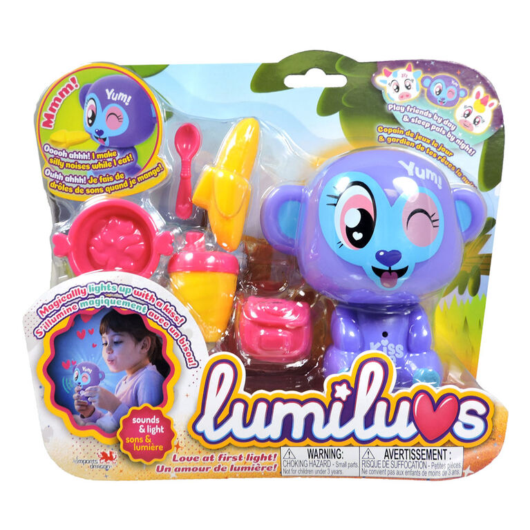 Lumiluv Wonder Pets - Monkey Picnic