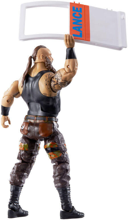 WWE Top Picks Braun Strowman Elite Collection Figure - English Edition