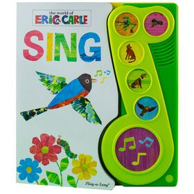 Eric Carle: Sing Little Music Note 6 Button Sound Book