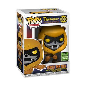PRE-ORDER, SHIPS APRIL 15, 2021 - Funko POP! Animation Thundarr The Barbarian Ookla The Mok Vinyl Figurine - R Exclusive - Available online only