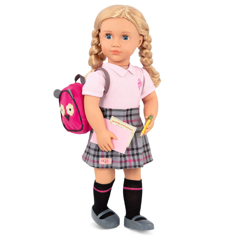 Our Generation, Hally, 18-inch Posable School Doll