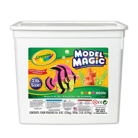 Bac de Crayola pâte à modeler Model Magic, néon 907g