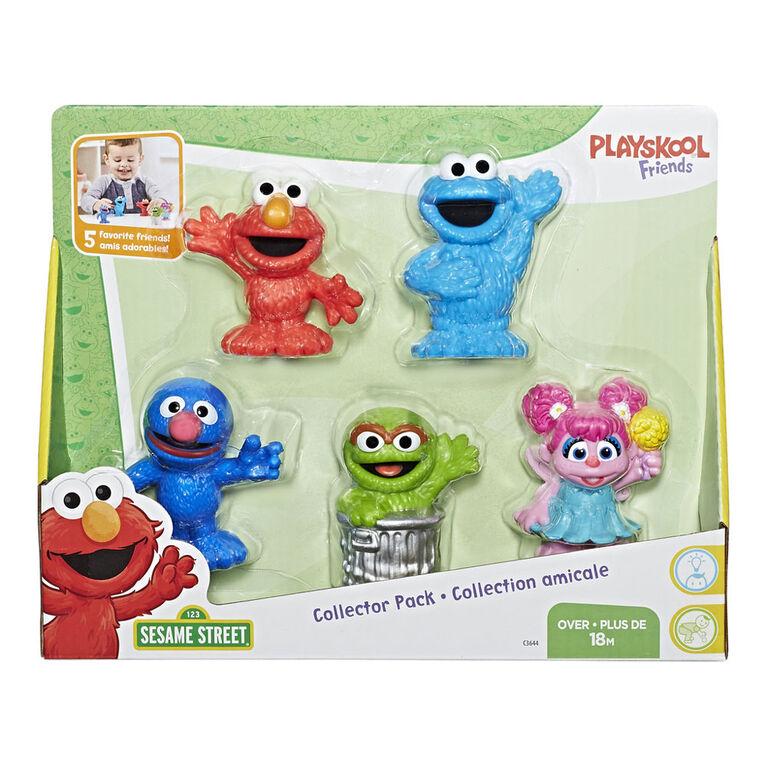 Playskool Friends Sesame Street Collector Pack 5 Figures - R Exclusive