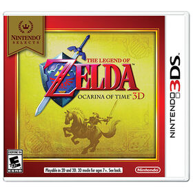 Nintendo 3DS - Nintendo Selects - The Legend Of Zelda: Ocarina Of Time 3D