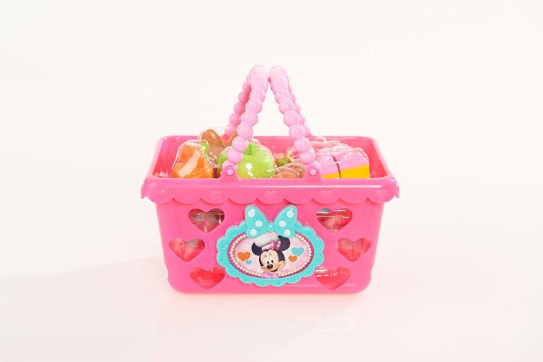 Disney Minnie Mouse Bow-Tique - Ensemble de Panier de Courses Bowtastic