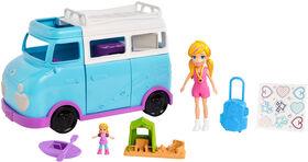 Polly Pocket - Coffret de jeu Caravane de camping.