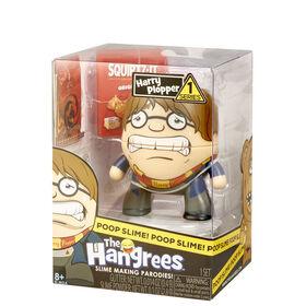 Figurine Parodie The Hangrees Harry Plopper à collectionner avec gelée