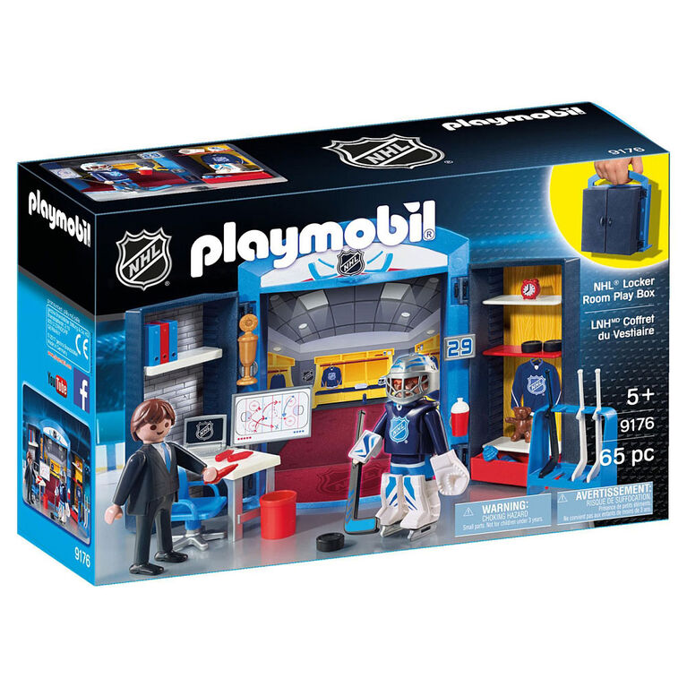 Playmobil - NHL Locker Room Play Box (9176)
