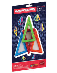 Magformers Quadrilaterals Add On 6 piece Set