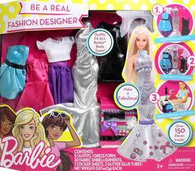 Barbie Be A Fashion Designer Set - English Edition
