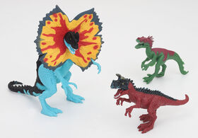 Animal Planet - Dinosaur Playset 3 Pieces – Dilophosaurus Set