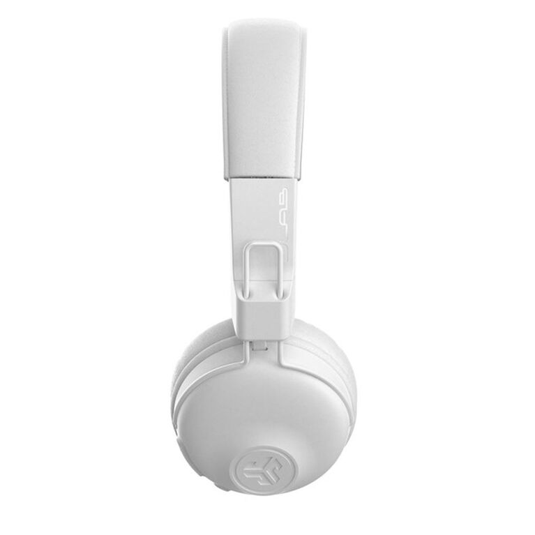 JLab Audio Studio Bluetooth On-Ear Casque sans Fil Blanc