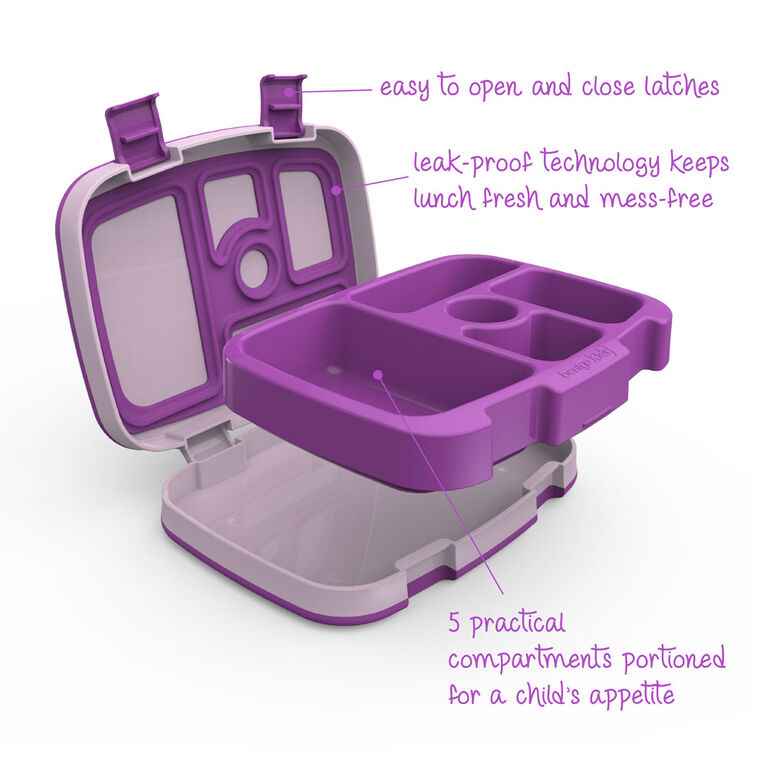Boîte à Lunch Kids de Bentgo - Violet