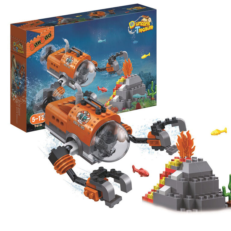 BanBao Duncan's Treasure - Submarine with Claws