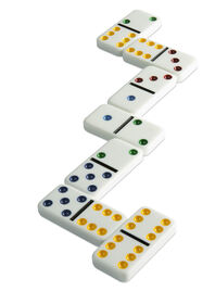Double 6 Dominos In Box