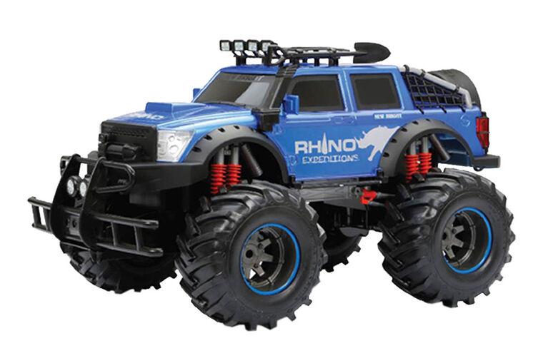 New Bright R/C 4X4 Rhino, - Blue