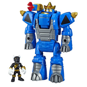 Playskool Heroes Power Rangers Morphin Zords Black Ranger and Rhino Zord