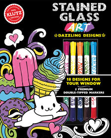 Klutz - Stained Glass Art: Dazzling Designs - English Edition