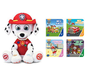 VTech PAW Patrol Marshall's Read-to-Me Adventure  - French Edition