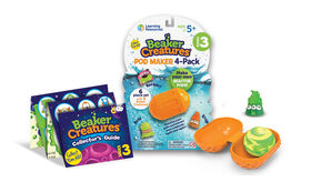 Learning Resources Beaker Creatures Series 3 Pod-Maker, 4 Pack - English Edition