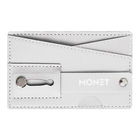 Monet Phone Wallet Grip Stand White