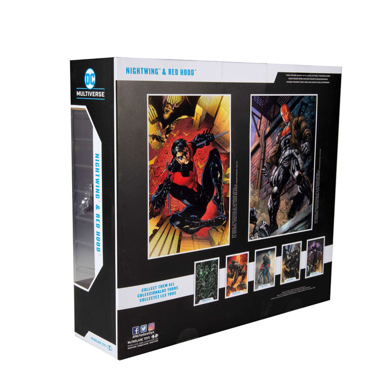 DC Multiverse Collector Multipack - Night Wing & Red Hood Figures