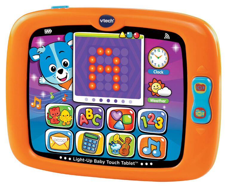 Vtech - Light-Up Baby Touch Tablet - English Edition
