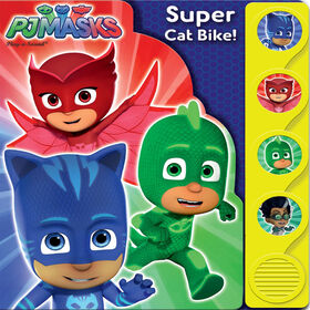 Little Shaped Sound Book Pj Masks - English Edition