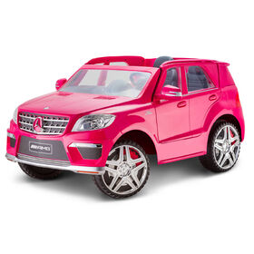 Kid Trax Mercedes GL 63 12V Powered Ride On - Pink