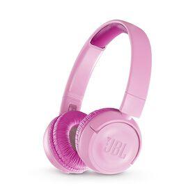 JBL JR300BT Kids Wireless On-Ear Headphones - Punky Pink