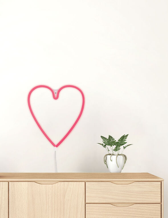 Brilliant Ideas HEART Neon LED Wall Light
