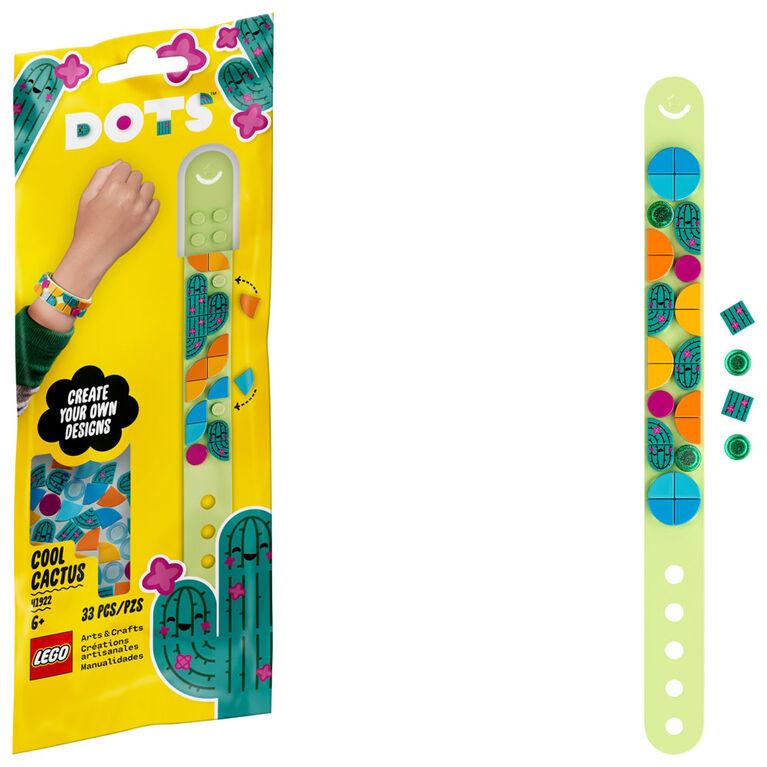 LEGO DOTS Le bracelet Cactus cool 41922