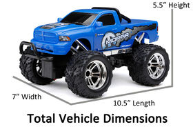 New Bright 1:18  Scale  RC Chargers Jeep Mopar Ram  Radio Control Truck.